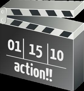 movie clapper action