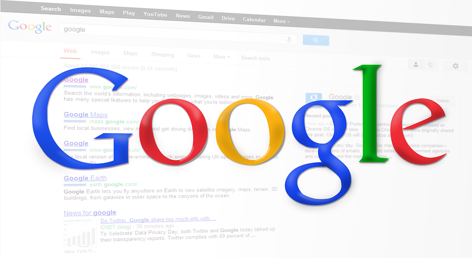search engine ranking on google
