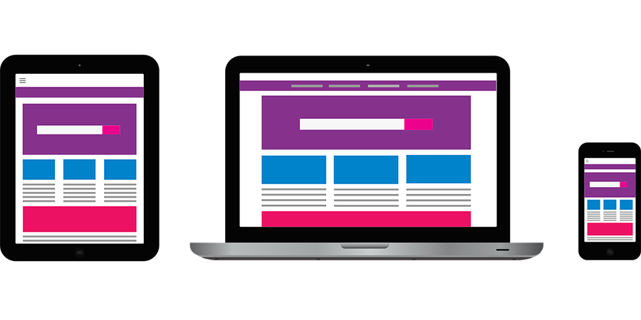 mobile responsive web design examples