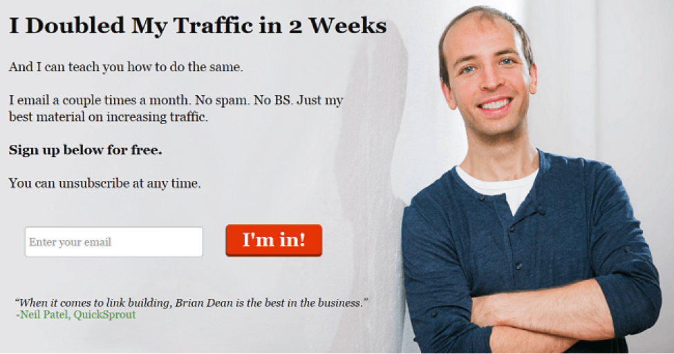 doubled my traffic in 2 weeks
